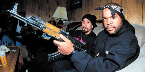 Ice Cube and his AK