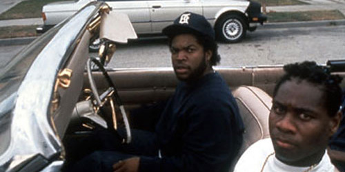 Ice Cube and his Jheri curl