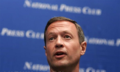 Martin O'Malley isn't very funny