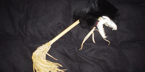 this weird Native American artifact