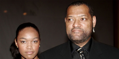Laurence Fishburne and... Chippy D