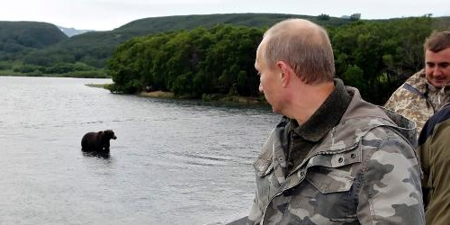 Russians and Putin and bears, oh my