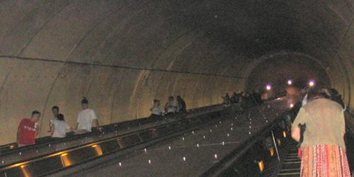 uh... escalators?