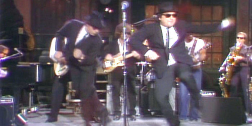 John Belushi and/or the Blues Brothers