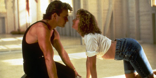 Patrick Swayze in Dirty Dancing