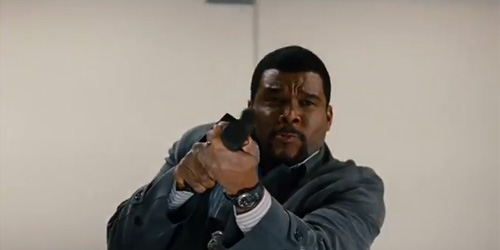 ALEX CROSS SHOOTS THIS GUN ... DRAMATICALLY