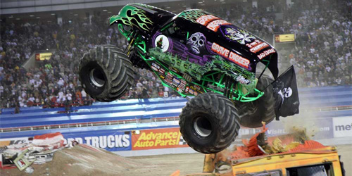 monster trucks = not a sport