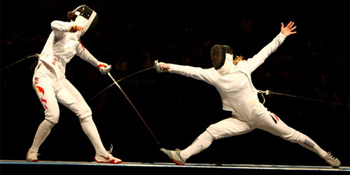 fencing = sport
