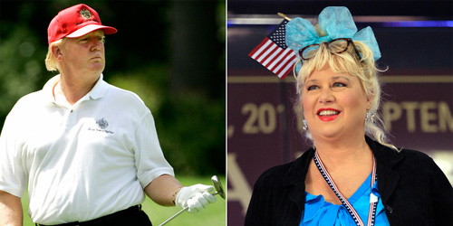 Donald Trump + Victoria Jackson = DREAM COUPLE