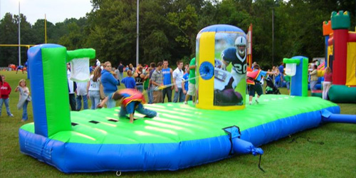 inflatable sports challenge