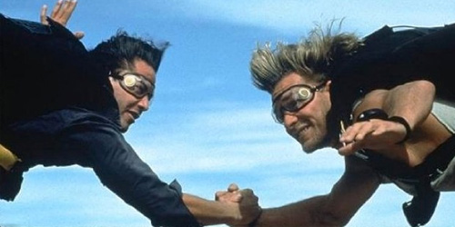 Patrick Swayze in... Point Break
