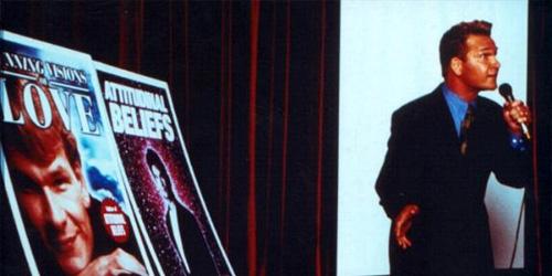 Patrick Swayze in... Donnie Darko
