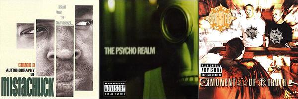 Chuck D, Psycho Realm, Gang Starr