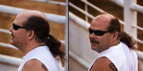 terrible, terrible haircut