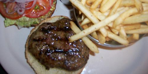 terrible, terrible hamburger, possibly