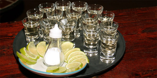 tequila, the delicious taste of ...hellfire