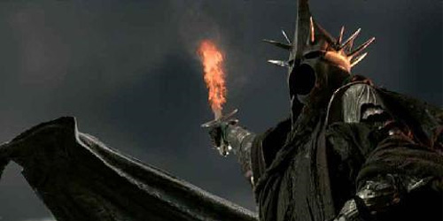 to the Witch King, whose demise made me so sad
