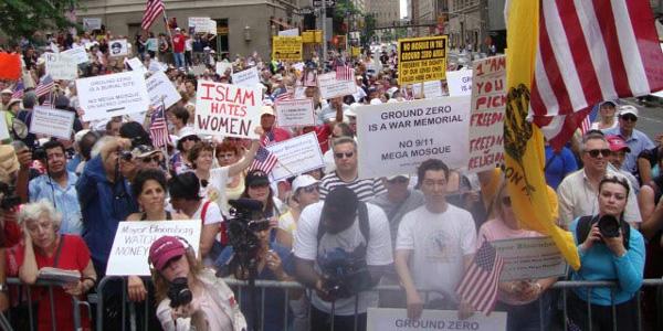 ground zero mosque protest