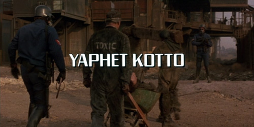 the Running Man starring YAPHET KOTTO